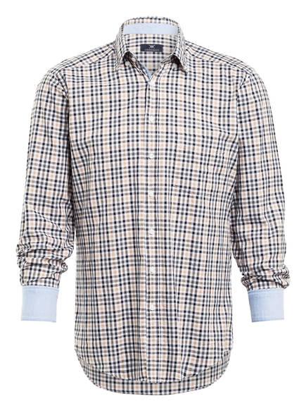STROKESMAN'S Hemd Slim Fit , Farbe: SCHWARZ/ BEIGE (Bild 1)