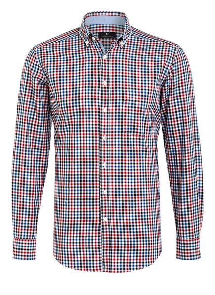 STROKESMAN'S Hemd Slim Fit , Farbe: WEISS/ ROT/ BLAU KARIERT (Bild 1)