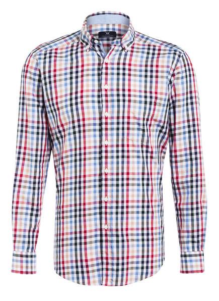 STROKESMAN'S Hemd Slim Fit, Farbe: ROT/ WEIS/ GRÜN KARIERT  (Bild 1)