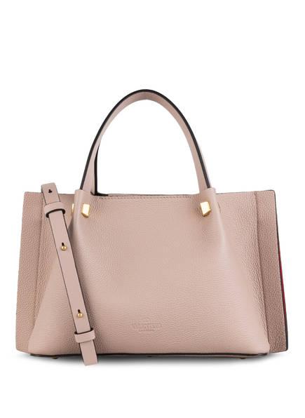 VALENTINO GARAVANI Shopper VLOGO ESCAPE SMALL, Farbe: POUDRE (Bild 1)