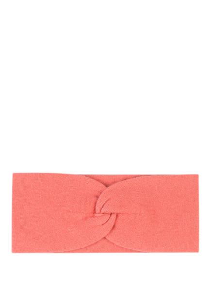 lilienfels Cashmere-Stirnband, Farbe: LACHS (Bild 1)