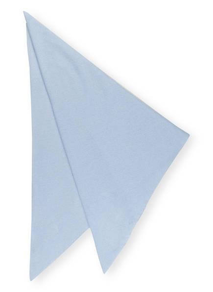 lilienfels Dreieckstuch aus Cashmere, Farbe: HELLBLAU (Bild 1)