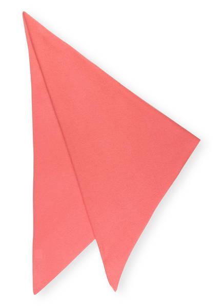 lilienfels Dreieckstuch aus Cashmere, Farbe: LACHS (Bild 1)