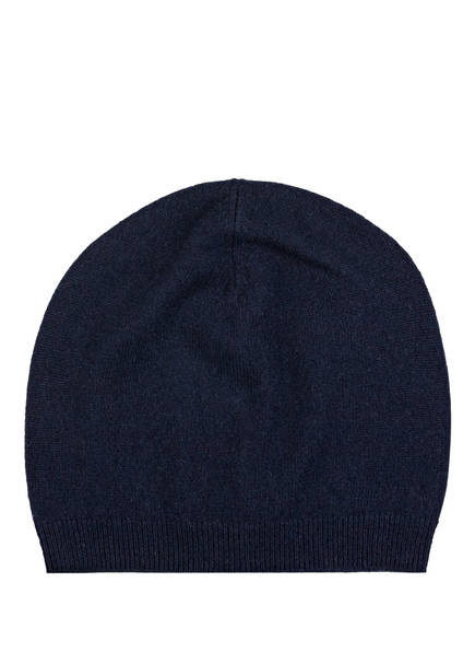 lilienfels Cashmere-Mütze, Farbe: DUNKELBLAU (Bild 1)