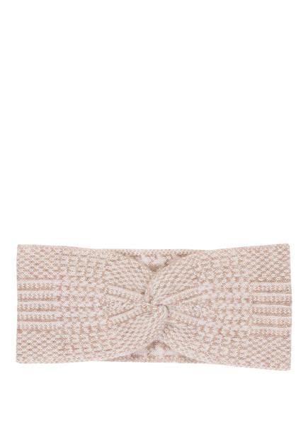 lilienfels Stirnband aus Cashmere, Farbe: BEIGE/ CREME (Bild 1)