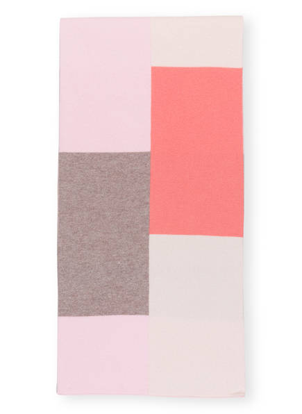 lilienfels Cashmere-Schal, Farbe: ROSA/ TAUPE/ LACHS (Bild 1)