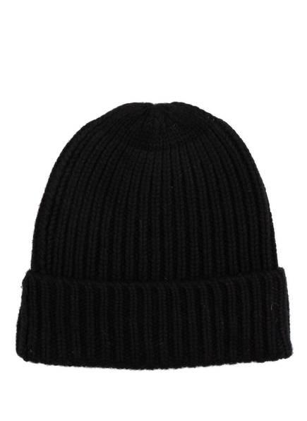 Mrs & HUGS Cashmere-Mütze, Farbe: SCHWARZ (Bild 1)