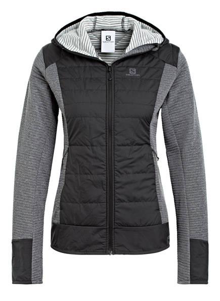 Salomon Outdoor-Jacke Right Nice Hybrid schwarz