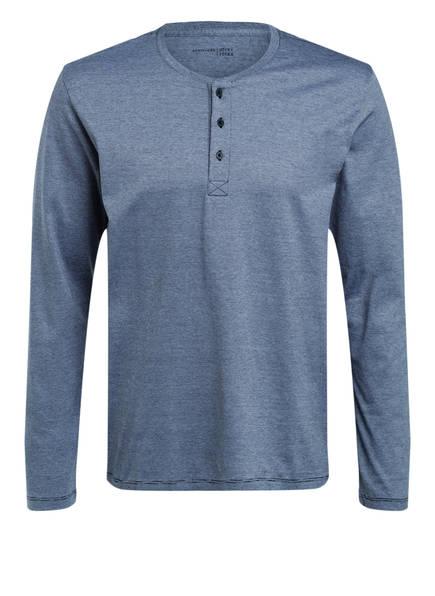 SCHIESSER Schlafshirt, Farbe: HELLGRAU MELIERT (Bild 1)