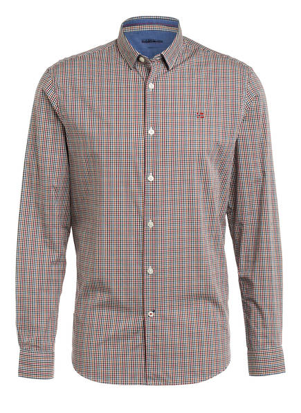 NAPAPIJRI Hemd GARDINER Regular Fit, Farbe: WEISS/ DUNKELROT/ BLAU  (Bild 1)