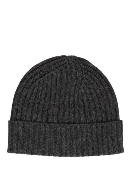 STROKESMAN'S Mütze mit Cashmere, Farbe: ANTHRAZIT MELIERT (Bild 1)