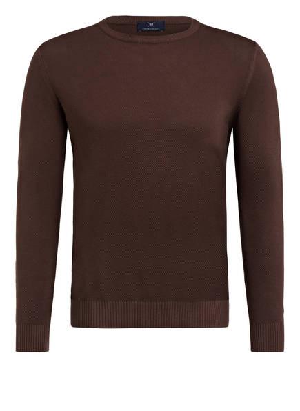STROKESMAN'S Pullover, Farbe: BRAUN (Bild 1)