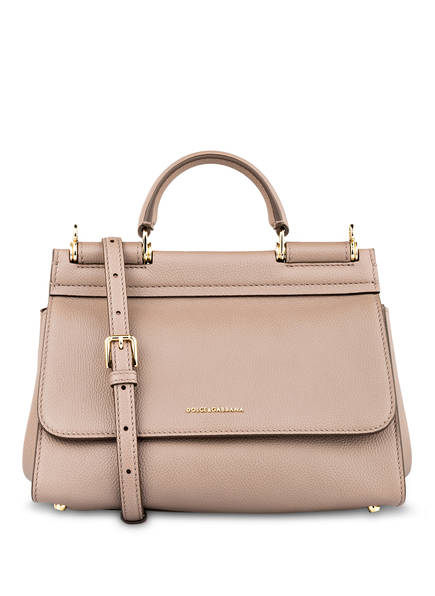 DOLCE&GABBANA Handtasche SICILY SOFT SMALL, Farbe: TORTORA MEDIO (Bild 1)