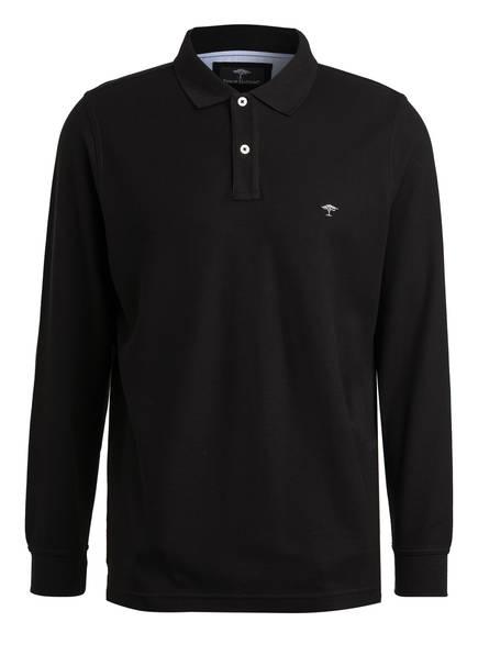 FYNCH-HATTON Piqué-Poloshirt, Farbe: SCHWARZ (Bild 1)