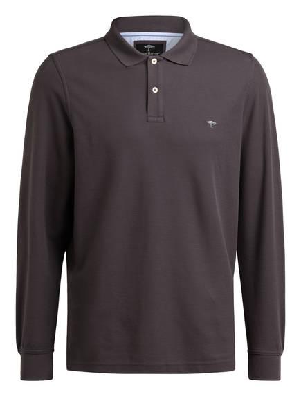 FYNCH-HATTON Piqué-Poloshirt, Farbe: GRAU (Bild 1)
