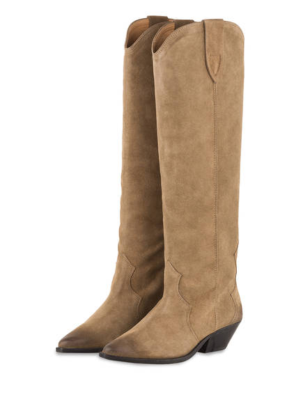 ISABEL MARANT Cowboy Boots DENVEE, Farbe: TAUPE (Bild 1)