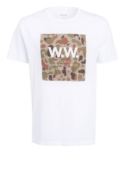 WOOD WOOD T-Shirt , Farbe: WEISS (Bild 1)