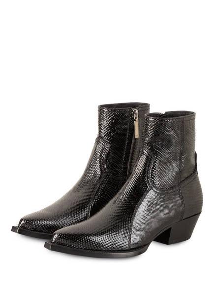 SAINT LAURENT Cowboy Boots LUKAS , Farbe: SCHWARZ (Bild 1)