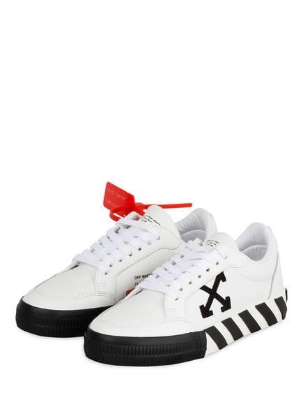 OFF-WHITE Sneaker ARROW LOW VULCANIZED, Farbe: WEISS (Bild 1)