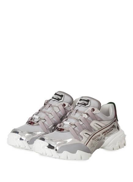 VALENTINO GARAVANI Sneaker CLIMBERS, Farbe: SILBER (Bild 1)