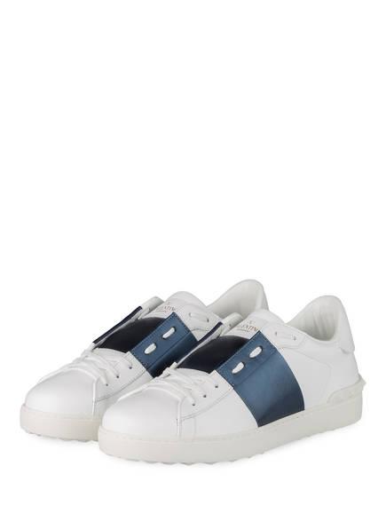 VALENTINO GARAVANI Sneaker OPEN, Farbe: WEISS/ BLAU (Bild 1)