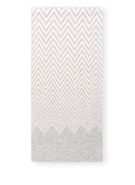 CHAS Schal mit Cashmere, Farbe: HELLGRAU/ ROSÈ (Bild 1)