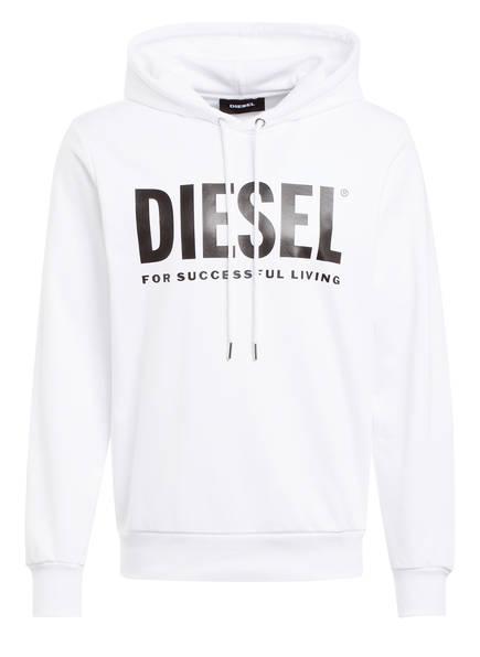 DIESEL Hoodie S-GIR-HOOD-DIVISION, Farbe: WEISS (Bild 1)