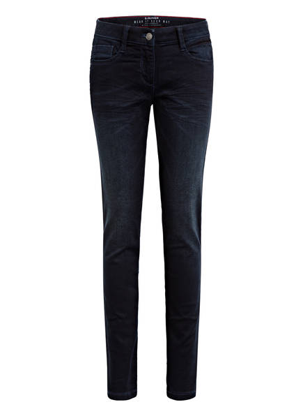 s.Oliver RED Jeans SURI Regular Fit, Farbe: 59Z2 dark blue denim (Bild 1)