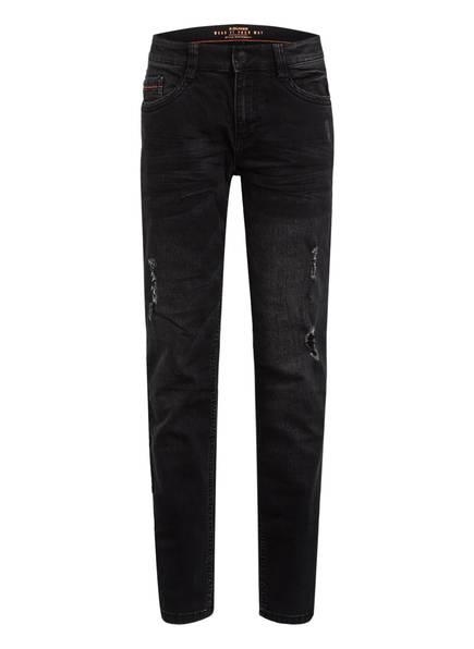 s.Oliver Jeans SEATTLE, Farbe: 98Z7 GREY BLACK DENIM STRETCH (Bild 1)
