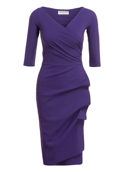 CHIARA BONI La Petite Robe Kleid mit 3/4-Arm, Farbe: DUNKELLILA (Bild 1)