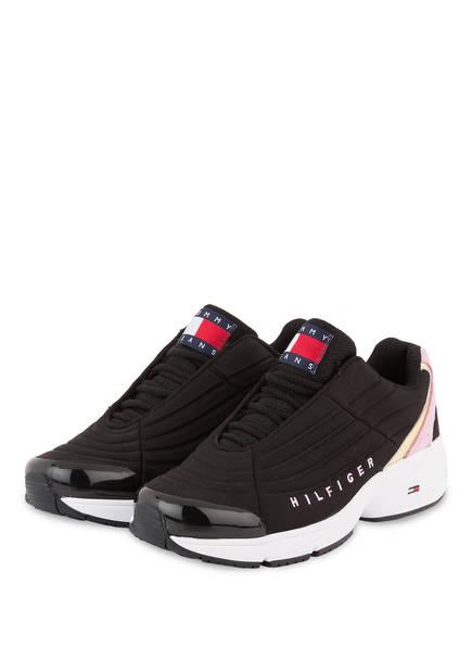 TOMMY JEANS Sneaker HERITAGE , Farbe: SCHWARZ (Bild 1)