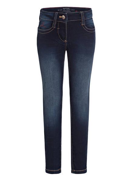 s.Oliver RED Jeans KATHY Slim Fit, Farbe: 57Z7 blue denim strech (Bild 1)
