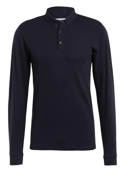 DSTREZZED Jersey-Poloshirt, Farbe: DUNKELBLAU (Bild 1)