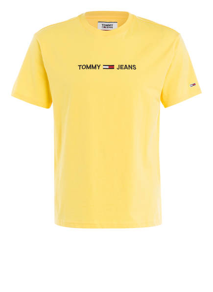 TOMMY JEANS T-Shirt, Farbe: GELB (Bild 1)