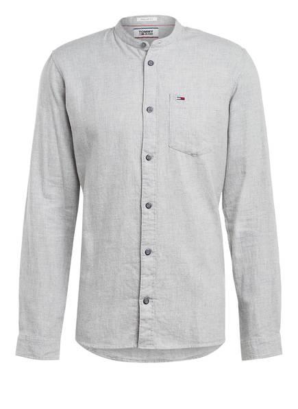 TOMMY JEANS Flanellhemd Regular Fit, Farbe: HELLGRAU (Bild 1)