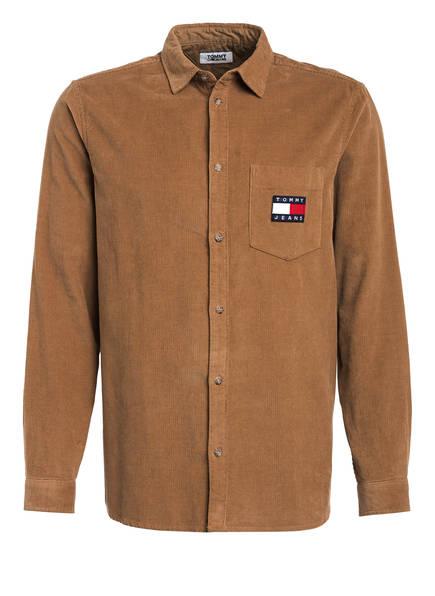 TOMMY JEANS Overshirt, Farbe: HELLBRAUN (Bild 1)