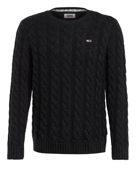 TOMMY JEANS Pullover, Farbe: DUNKELGRAU (Bild 1)