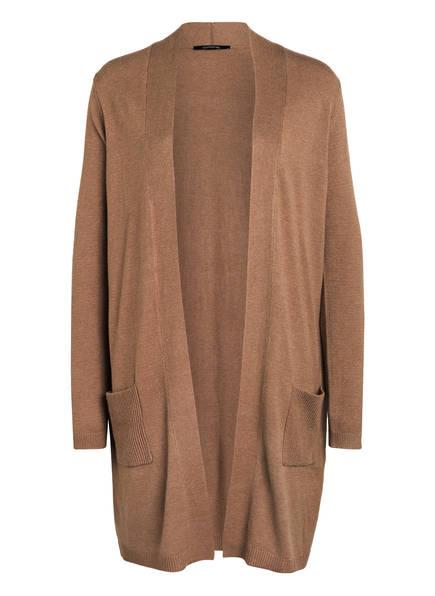 comma – Pullover mit überschnittenen Schultern – Camel
