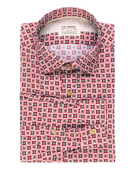FIL NOIR Hemd ROMA Shaped Fit, Farbe: ALTROSA/ ROT/ OLIV (Bild 1)