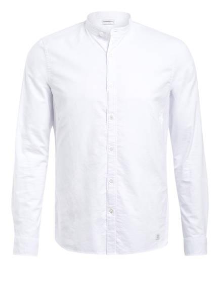 NOWADAYS Hemd GRANDAD Regular Fit, Farbe: WEISS (Bild 1)