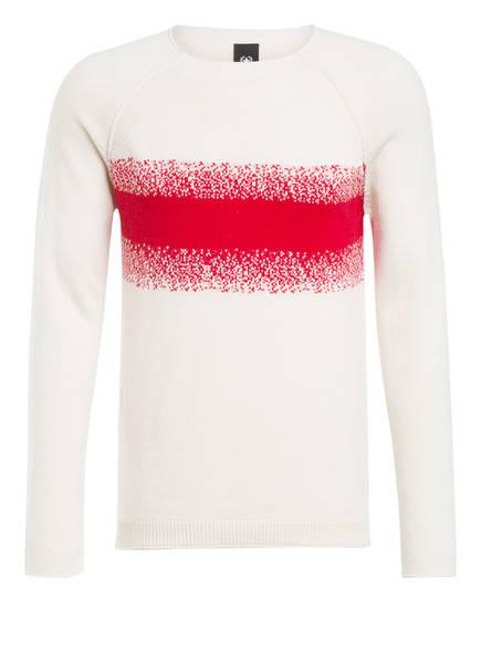 strellson Pullover RECTOR, Farbe: WEISS/ ROT (Bild 1)