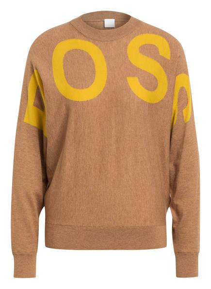 BOSS Pullover WALCI , Farbe: CAMEL/ DUNKELGELB (Bild 1)