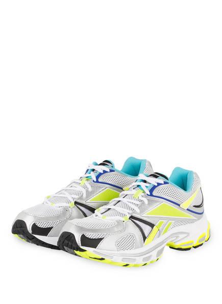 VETEMENTS Sneaker SPIKE RUNNER 200, Farbe: WEISS/ SILBER/ GELB (Bild 1)