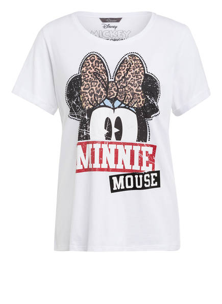 Princess GOES HOLLYWOOD T-Shirt MINNIE BOW, Farbe: WEISS (Bild 1)