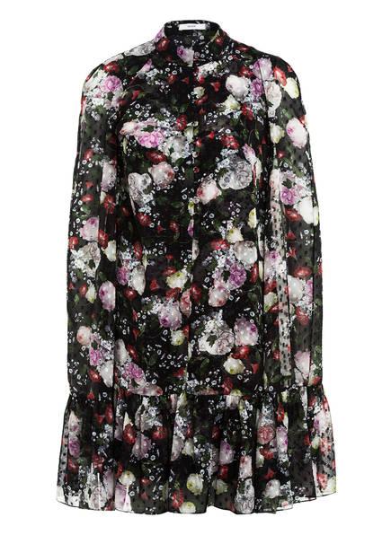Erdem Kleid CONSTANTINE , Farbe: SCHWARZ/ HELLROSA/ ROT (Bild 1)