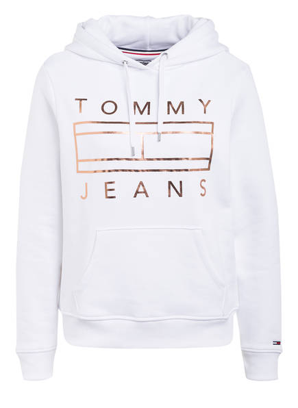 TOMMY JEANS Hoodie ESSENTIAL, Farbe: WEISS (Bild 1)
