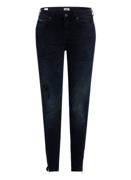 TOMMY JEANS Skinny-Jeans NORA, Farbe: DUNKELBLAU (Bild 1)