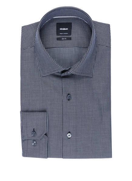 strellson Hemd SANTOS Slim Fit, Farbe: SCHWARZ/ WEISS (Bild 1)