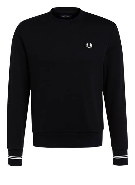 FRED PERRY Sweatshirt, Farbe: SCHWARZ (Bild 1)
