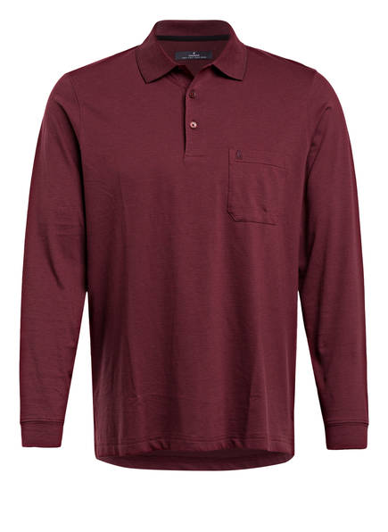 RAGMAN Poloshirt, Farbe: DUNKELROT (Bild 1)